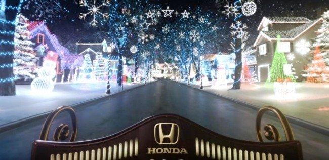 «Хонда» устроила детям виртуальное путешествие на санях