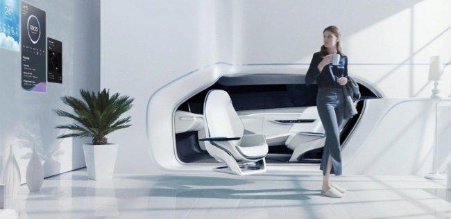Hyundai интегрировал автомобиль в дом