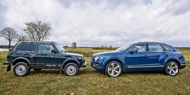 Немцы провели сравнительный тест: Нива против Bentley Bentayga