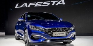 Фотошпионы заглянули в салон нового седана Hyundai Lafesta