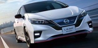 Nissan превратил Leaf в спортивный электрокар