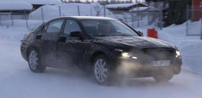 Mercedes-Benz S-Class 2013 вышел на зимние тесты