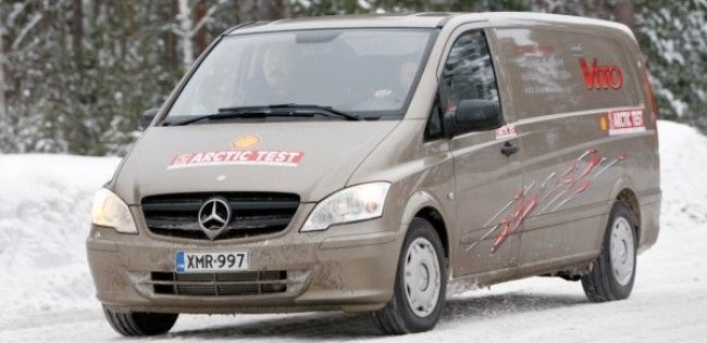 Mercedes Vito – лучший фургон для льда