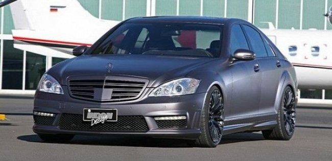 Inden Design поиграл с Mercedes S500