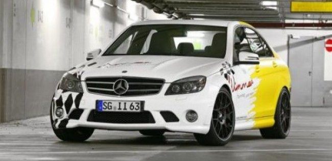 Mercedes C63 AMG от Wimmer RS