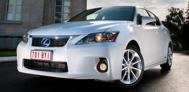 Lexus CT 300h : дополнят дополнительной мощностью (ФОТО)