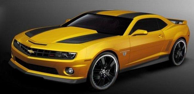 Chevrolet Camaro получит спецверсию в честь новых Трансформеров