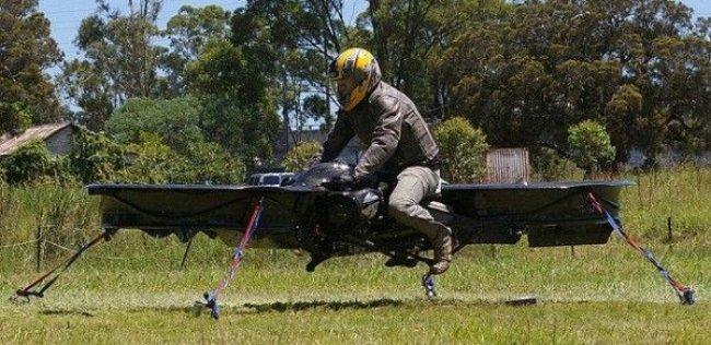 Мотоцикл, который может лететь до 200 км/час. на высоте 3000метров изобрели в Австралии (ФОТО)