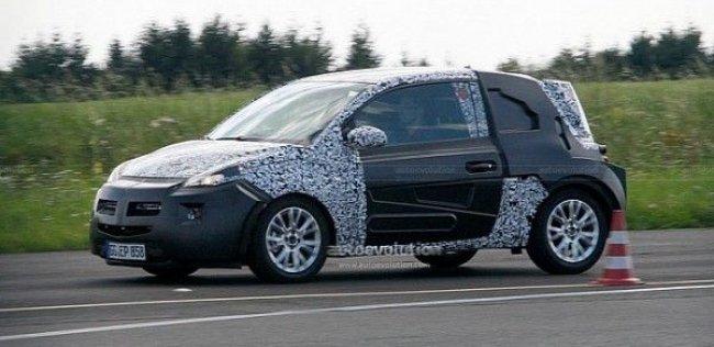 Opel начал испытания субкомпактного хэтчбека
