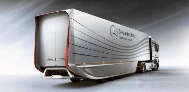 Mercedes-Benz показал концептуальный автопоезд