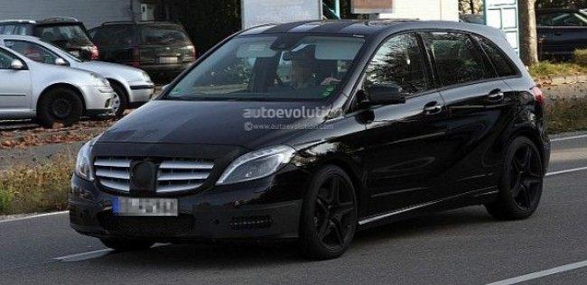 Фотошпионами замечен Mercedes Benz B25 AMG