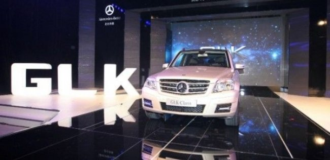 Первый Mercedes GLK – made in China
