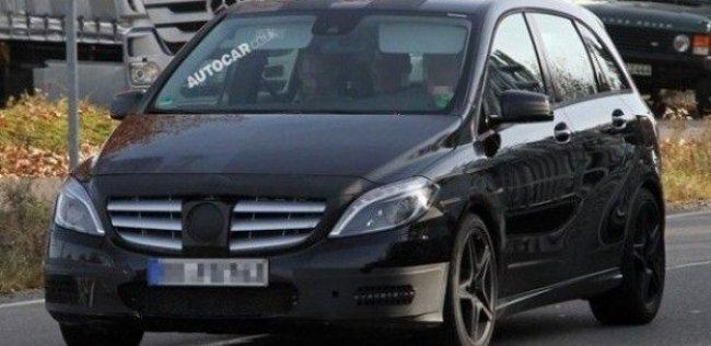 Компактвэну Mercedes B-klasse не видать версии AMG