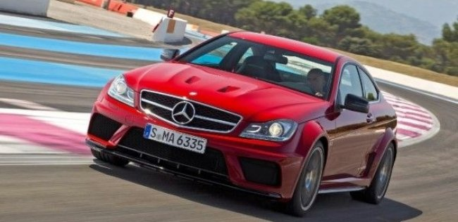 Mercedes-Benz C63 AMG Coupe Black Series преодолел петли Nurburgring за 7:46 минуты