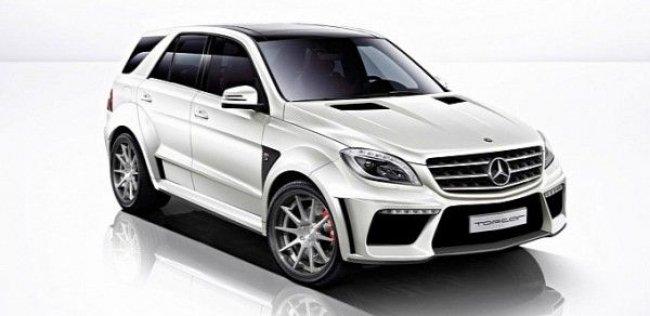 Российское ателье TopCar переключилось на Mercedes-Benz