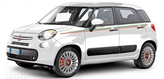 Fiat 500 увеличится в размерах и станет пятидверным