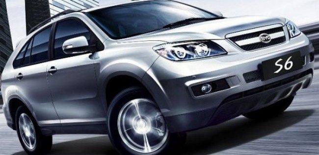 BYD S6 получил пять звезд C-NCAP