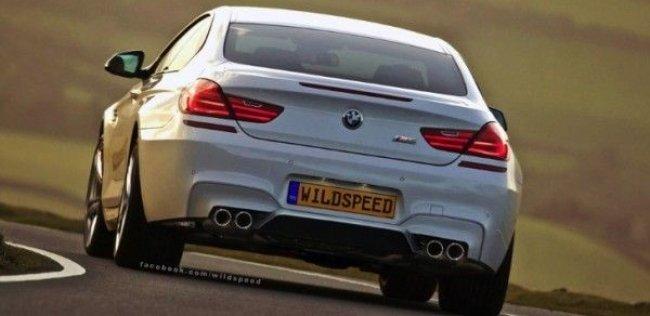Новый BMW M6 появится в Женеве