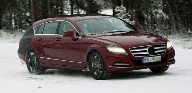 Mercedes Benz CLS 2013 замечен на испытаниях
