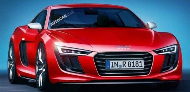 Обновленный суперкар Audi R8 впервые покажут в Москве