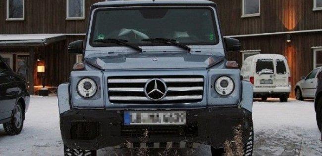 Mercedes-Benz подтвердил использование 5,5-литрового twin-turbo V8 для G55 AMG
