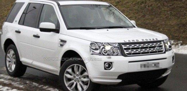 Выпущены фотографии обновленного Land Rover Freelander