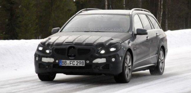 Mercedes-Benz E-класса получил новую внешность