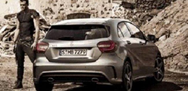 Первое изображение Mercedes A-Class 2013