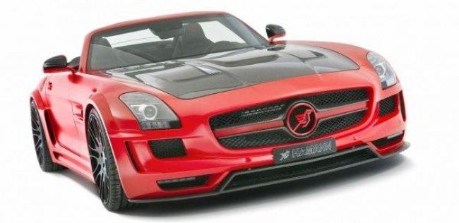 В Женеве представлят родстер Hawk на базе Mercedes-Benz SLS AMG