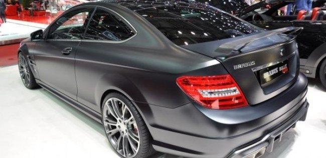Brabus переименовал купе Mercedes C 63
