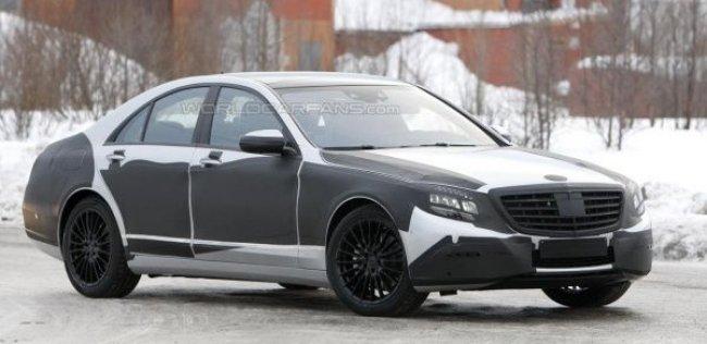 Испытания нового Mercedes-Benz S-класса близятся к финалу