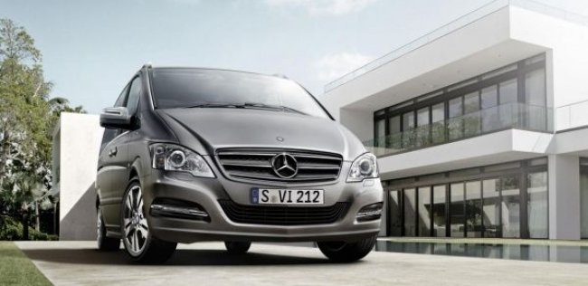 Mercedes-Benz выпустил жемчужный Viano