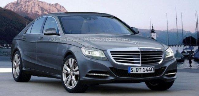 Раскрыты некоторые подробности о новом Mercedes S-Class