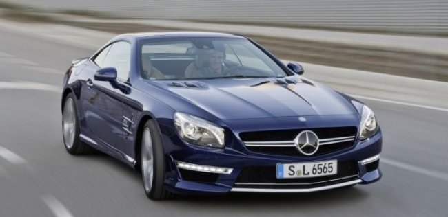 Mercedes-Benz SL оснастили битурбо мотором V12