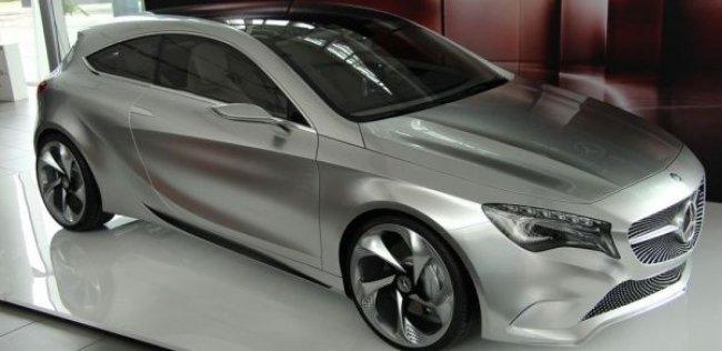 В Киеве можно воочию увидеть Mercedes-Benz A-class Concept