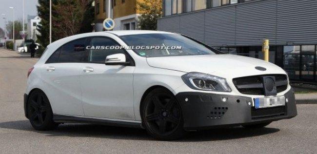 Mercedes-Benz готовит к производству полноприводный компакт