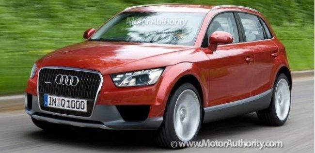 Семейство кроссоверов Audi готовится принять паркетник Q2