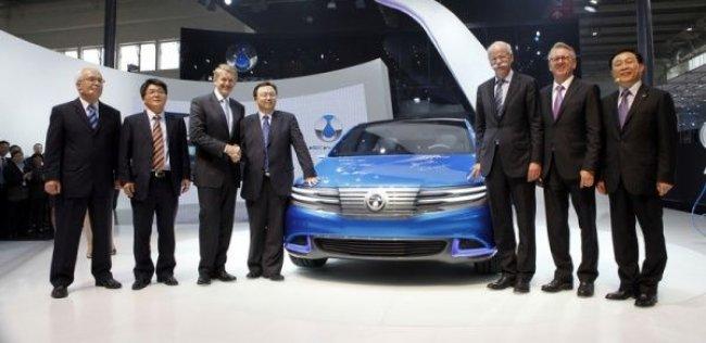 Daimler и BYD представили первую совместную разработку