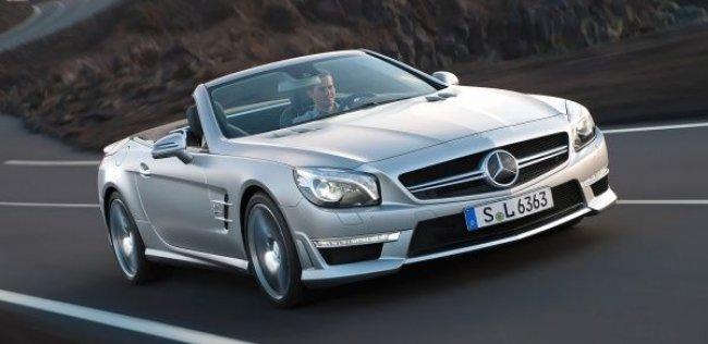 Mercedes назначил цену новому SL 63 AMG
