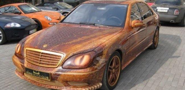 Представлен Mercedes с дизайном дракона