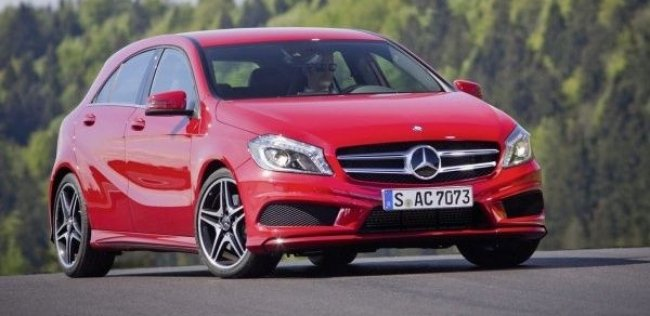Названы цены на Mercedes A-Class третьего поколения