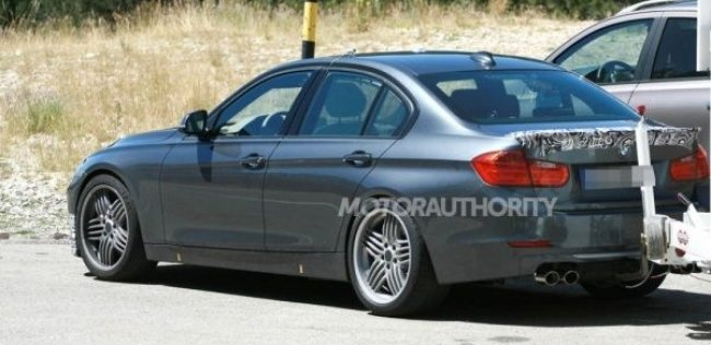 BMW Alpina B3 заметили без камуфляжа в Германии