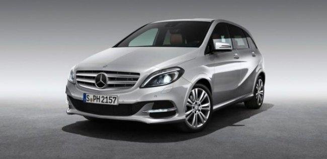 Париж-2012: Mercedes-Benz выпустил газовую версию компактвэна B-класса