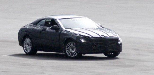 Mercedes-Benz тестирует кабриолет S-класса