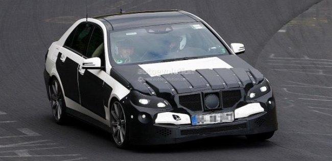 Новый Mercedes E63 AMG заметили на Нюрбургринге