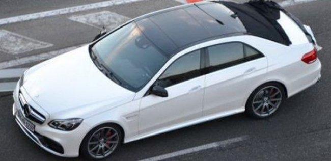 Новый Mercedes E-класса заметили без камуфляжа