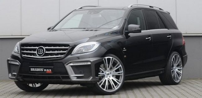 Brabus прокачало Mercedes-Benz ML 63 AMG