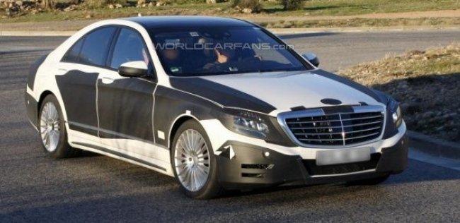 Новый Mercedes-Benz S-класса частично отказался от спецзащиты