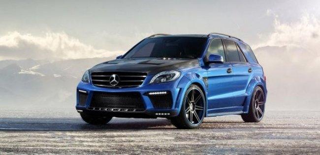 Российские тюнеры создали адский Mercedes-Benz
