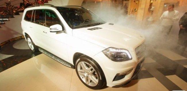 В Крыму состоялась новогодняя презентация автомобилей Mercedes-Benz A и GL-классов